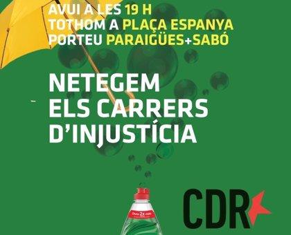 Los CDR convocan una protesta en la plaza Espanya de Barcelona este martes a las 19 horas