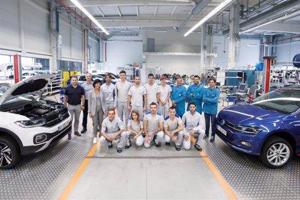 Volkswagen Academy Navarra forma a 10 jóvenes tras ser acreditada para impartir certificados de profesionalidad