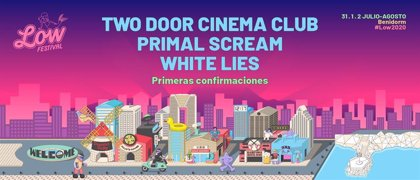 Primal Scream y White Lies se apuntan al Low Festival 2020