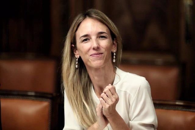 La portavoz del PP en el Congreso Cayetana Álvarez de Toledo se reúne con los dirigentes de la Conferencia de Rectores de las Universidades Españolas, en el Congreso de los Diputados a 16 de septiembre de 2019.