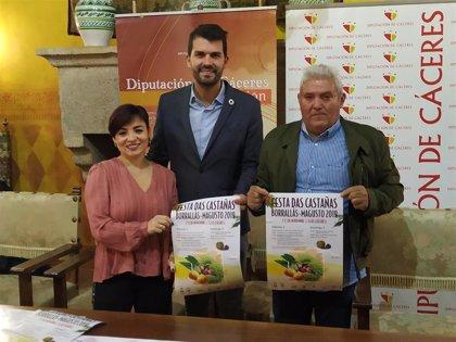 Eljas (Cáceres) celebra la 'Festa das castañas' en hermanamiento con Foios (Portugal)