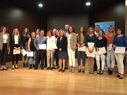 Una quincena de desempleados se forman en el taller de empleo de gestión administrativa en Alhaurín el Grande (Málaga)