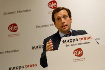 """Almeida exige a Sánchez que Interior se encargue de los eventuales """"desordenes públicos"""" tras la exhumación de Franco"""