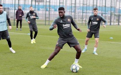 Umtiti y Sergi Roberto, bajas del Barça para Praga