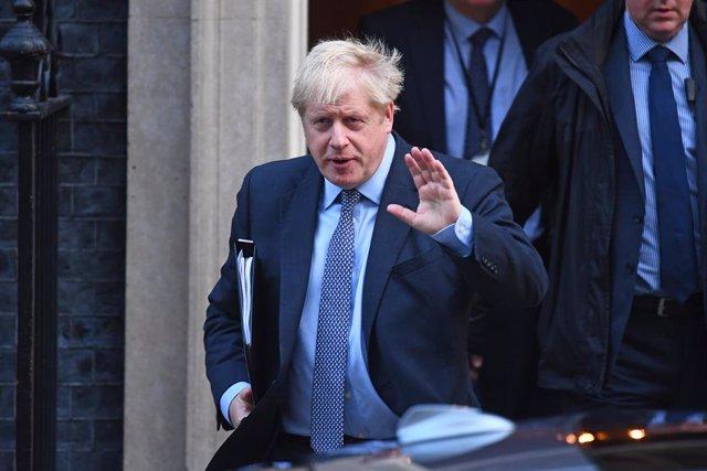 Brexit.- Johnson pedirá la convocatoria de elecciones si el Parlamento tumba su