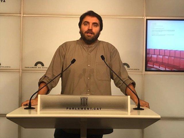 Portaveu adjunt del PSC, Ferran Pedret