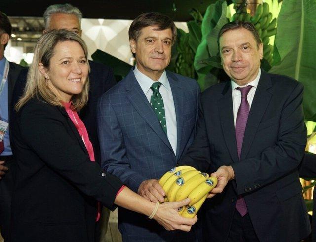 Alicia Vanoostende, Domingo Martín y Luis Planas