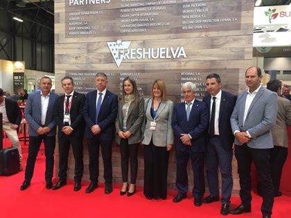 La Junta muestra su apoyo a las empresas de Huelva que participan en Fruit Attraction