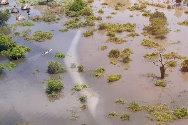 Inundaciones en Pibor, Sudán del Sur