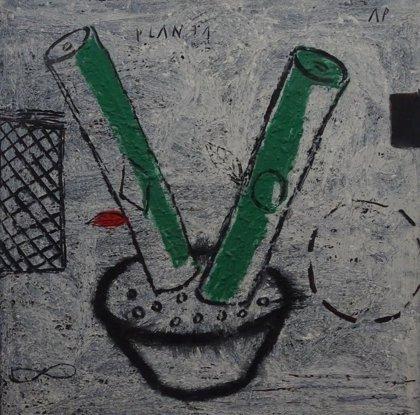 Una exposición recorre el arte en Galicia de finales del XX a través de 40 obras del grupo Atlántica
