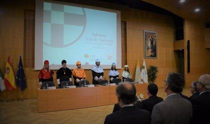 Inauguración de curso en la Universidad San Pablo CEU de Sevilla, que crece un 13% en alumnado de nuevo ingreso