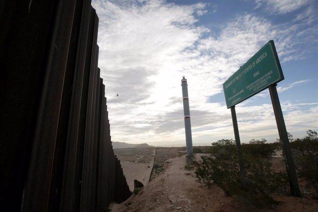 Frontera de México con Estados Unidos en Ciudad Juárez