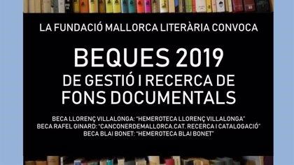 Convocan tres becas de investigación sobre los autores mallorquines Rafel Ginard, Blai Bonet y Llorenç Villalonga