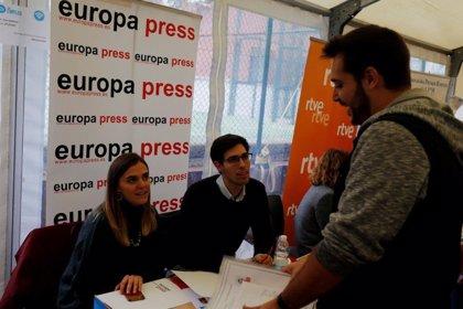 Europa Press participa en el Foro de Empleo de la Universidad CEU San Pablo