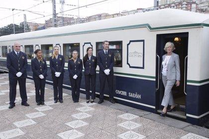 El Costa Verde Express llega a Cantabria en su viaje promocional de la España Verde