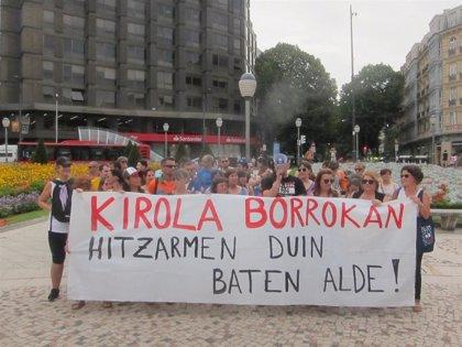 Más de 2.000 trabajadores de locales y campos deportivos de Bizkaia iniciarán una huelga de dos semanas el próximo lunes