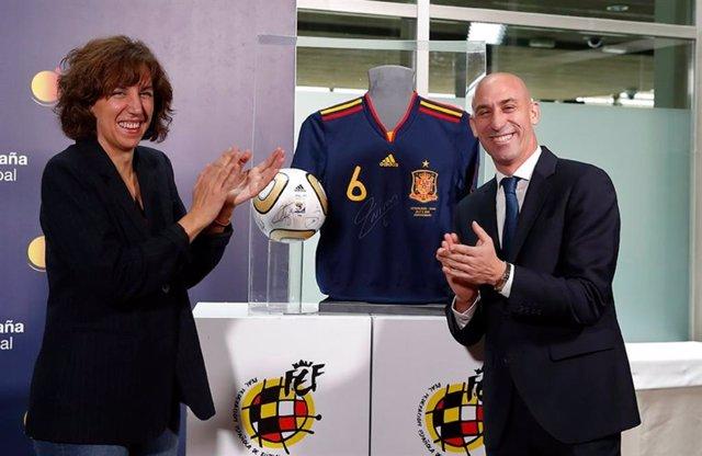 """Fútbol.- España Global y la RFEF colaborarán para """"potenciar y fortalecer"""" la im"""