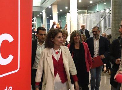 """Montero dice que presentarán unos presupuestos tras las elecciones que """"cumplirán el marco"""" europeo"""