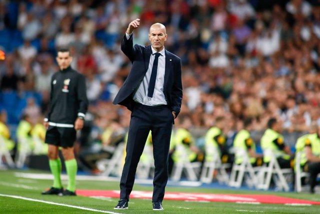 "Fútbol/Champions.- Zinédine Zidane: ""Hemos respondido muy bien, estuvimos concen"