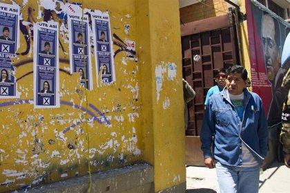 Bolivia.- El Tribunal Electoral Departamental del Beni anuncia que se repetirá la votación en cuatro mesas electorales