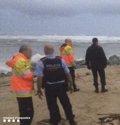 Hallan en Caldes d'Estrac (Barcelona)  el cadáver del hombre desaparecido por el temporal