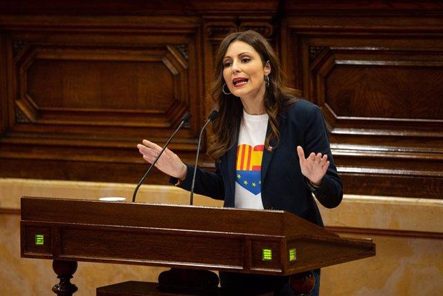 La líder de Ciutadans en Catalunya, Lorena Roldán.