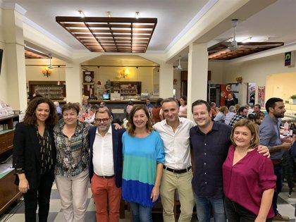 """Pere Joan Pons afirma que los socialistas """"están mejor que nunca"""" y llama a la movilización del electorado"""