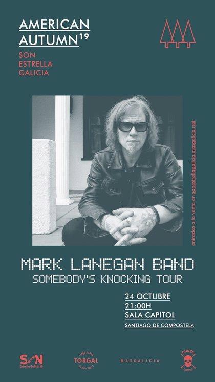 El músico americano Mark Lanegan actúa este jueves en la Sala Capitol de Santiago