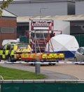 Hallan 39 cadáveres en el interior de un camión cerca de Londres