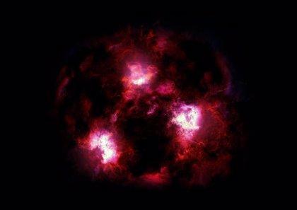 Avistan un Yeti cósmico al acecho en el polvo del universo distante