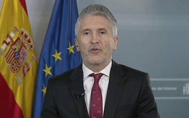 Entrevista a RTVE al ministre de l'Interior en funcions, Fernando Grande-Marlaska.