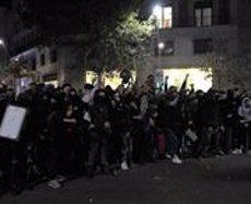 Detenen un tercer ultra per la pallissa a un antifeixista a Barcelona la setmana passada (EUROPA PRESS)