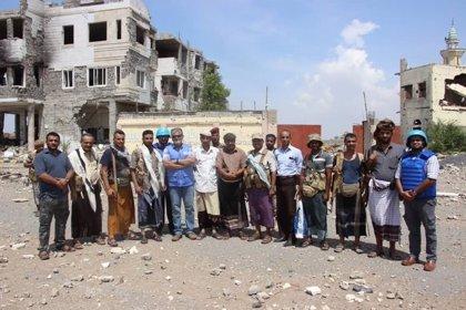 Las partes enfrentadas en Yemen instalan puestos conjuntos de observación del alto el fuego en Hodeida
