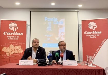 Cáritas Andalucía atiende a más de 7.000 personas sin hogar en 2018 con una inversión de 4,6 millones de euros