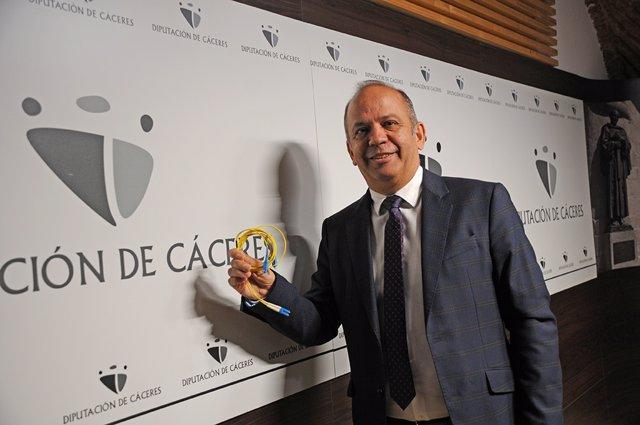 Santos Jorna, diputado de Agenda Digital de la Diputación de Cáceres