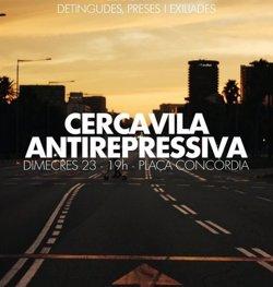 Els CDR convoquen una cercavila a Barcelona per exigir la llibertat dels detinguts el 23S (CDR)