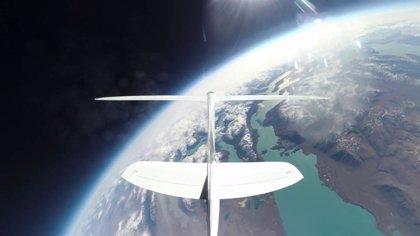 Esta es la visión de un piloto del planeador Airbus Perlan II cuando vuela a más de 20 km