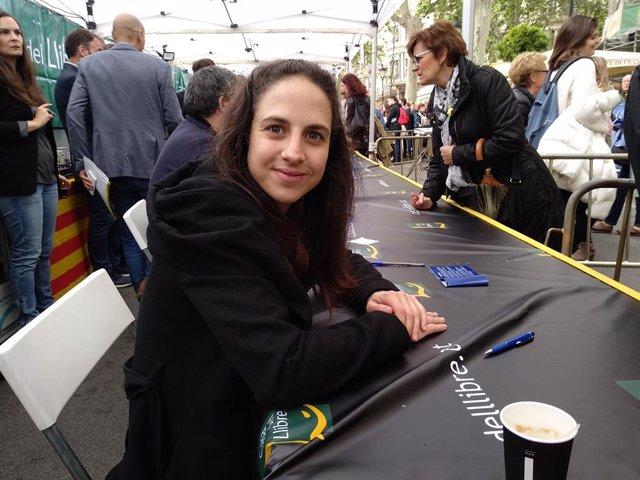 L'escriptora Cristina Morales.