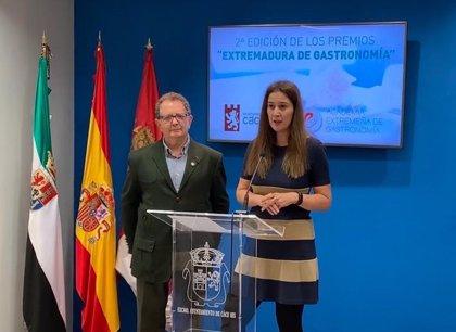 La Academia Extremeña de Gastronomía entrega sus premios a restaurantes y entidades en una gala en Cáceres