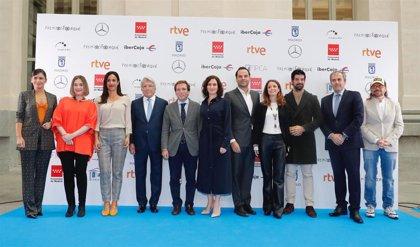 Santiago Segura y Elena Sánchez, presentadores de la gala de los XXV Premios Forqué en Madrid
