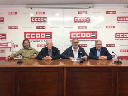 """La Mesa del Tren de Almería ve una """"excusa peregrina"""" los cambios en las obras de El Puche para justificar los retrasos"""