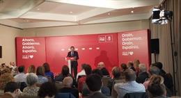 El ministre d'Agricultura en funcions, Luis Planas, en un acte a Vitòria.
