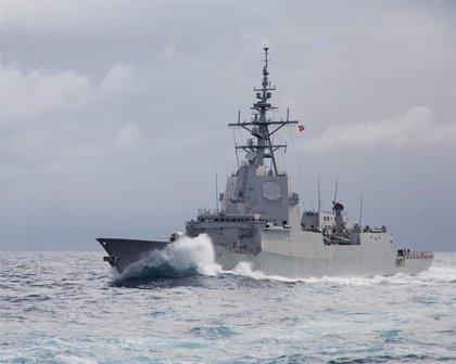 Las fragatas 'Álvaro de Bazán', 'Almirante Juan de Borbón' y 'Reina Sofía' harán escala en el puerto de Málaga