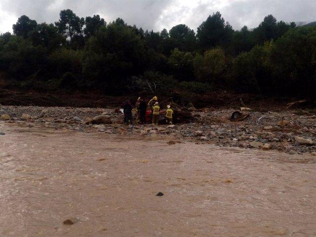 Vehicle trobat a L'Espluga de Francolí (Tarragona).