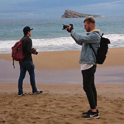 Doce 'influencers' europeos promocionan el destino Benidorm invitados por Visit Benidorm