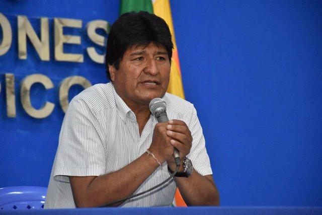 El president de Bolivia, Evo Morales