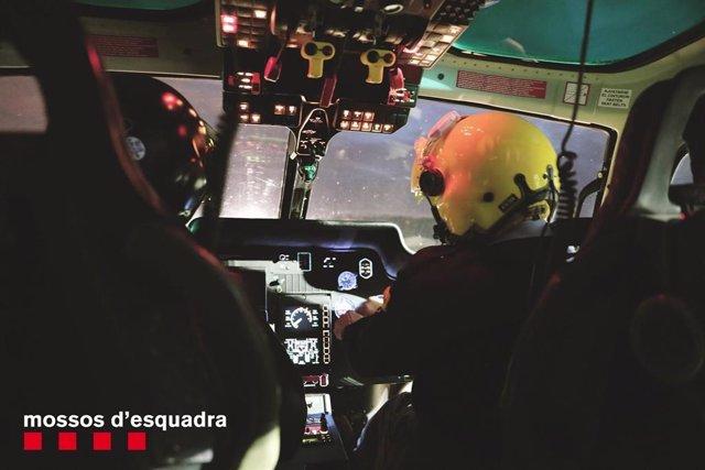 Helicòpter dels Mossos