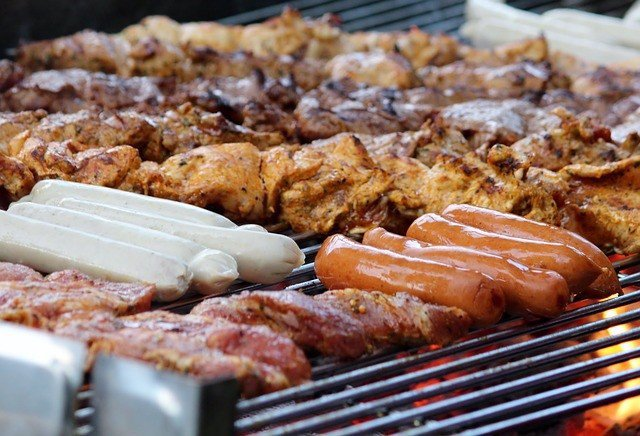 Carne, salchichas