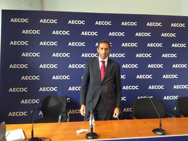 El director general de Campofrío para el sur de Europa, Paolo Soares. En la 34ª edición del Congreso AECOC de Gran Consumo en Bilbao.