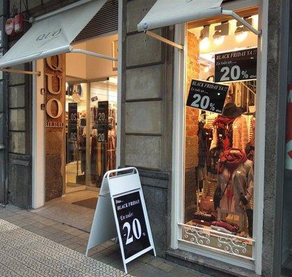 Los españoles gastarán una media de 240 euros entre el 'Black Friday' y 'CyberMonday'